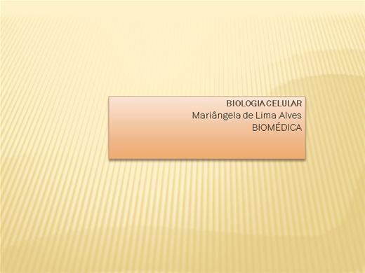 Curso Online de Biologia Celular