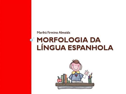 Curso Online de Morfologia da Língua Espanhola