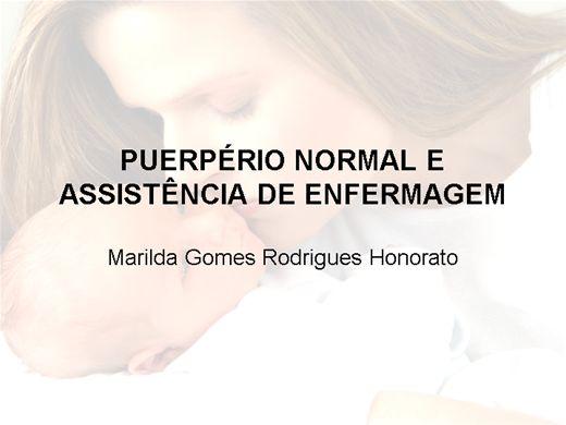 Curso Online de Puerpério Normal e Assistência de Enfermagem