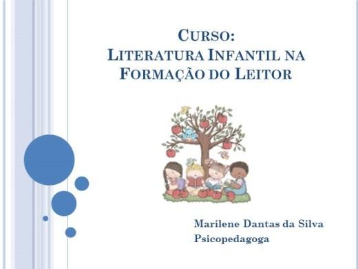 Curso Online de Literatura Infantil na Formação do Leitor