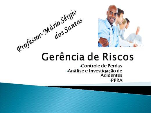 Curso Online de PGR - Gerenciamento de Risco
