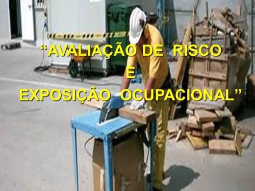Curso Online de Aula 01- Avaliação de Risco Ocupacioanal