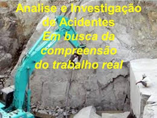 Curso Online de Análise e Investigação de Acidentes