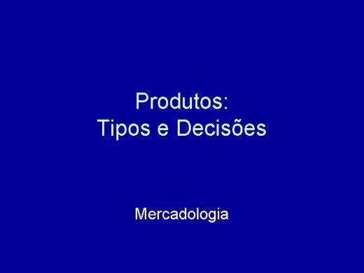 Curso Online de Mercadologia: Produtos e ciclos