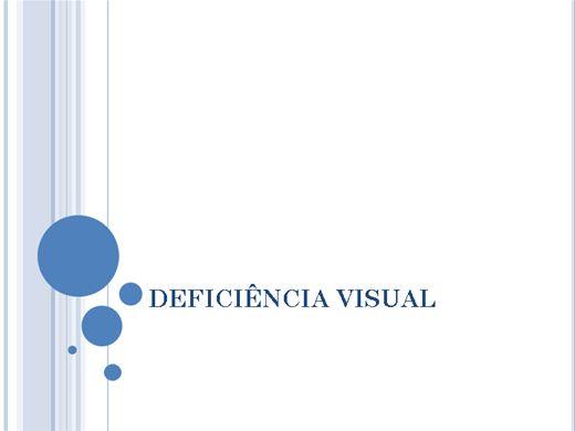 Curso Online de Deficiência Visual - Como trabalhar