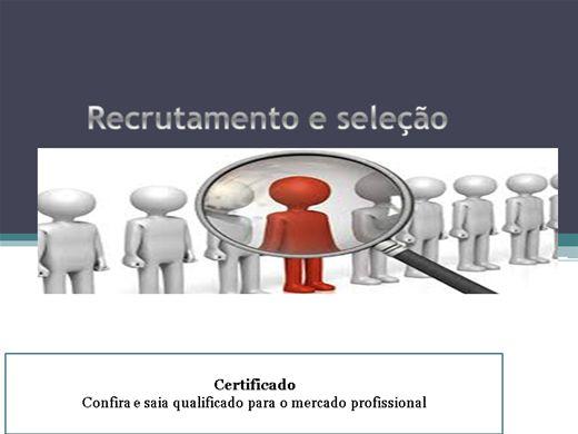 Curso Online de Recrutamento e seleção