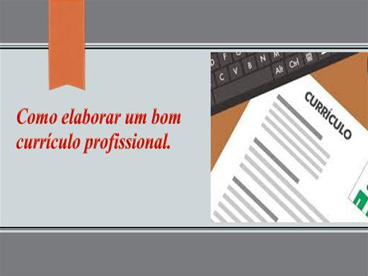 Curso Online de curso de como elaborar um curriculo
