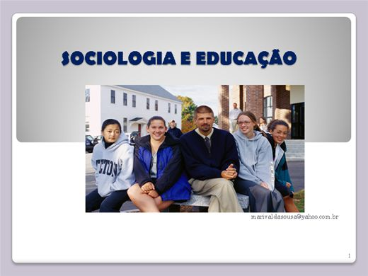 Curso Online de Sociologia e Educação