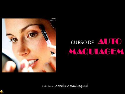 Curso Online de Curso Avançado de Auto Maquiagem.