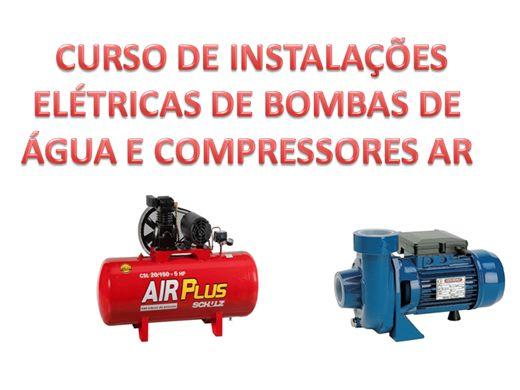 Curso Online de CURSO DE COMANDOS ELÉTRICOS DE BOMBA DE ÁGUA E COMPRESSOR DE AR