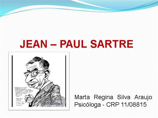 Curso Online de Sartre e o Existencialismo