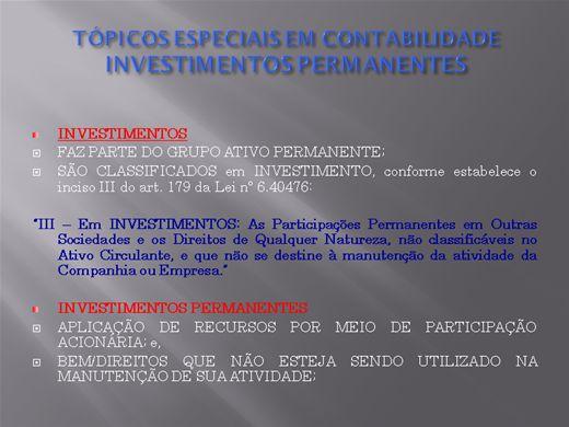 Curso Online de contabilidade avançada