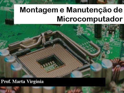 Curso Online de Montagem e Manutenção de Microcomputador
