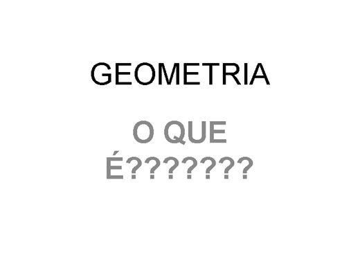 Curso Online de GEOMETRIA
