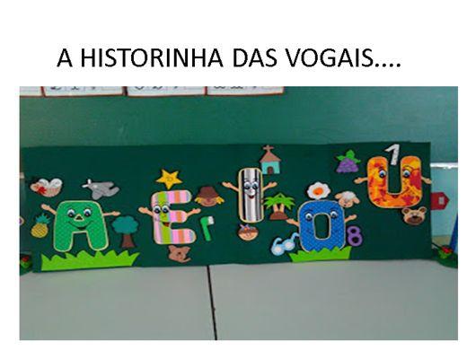 Curso Online de A HISTORINHA DAS VOGAIS....