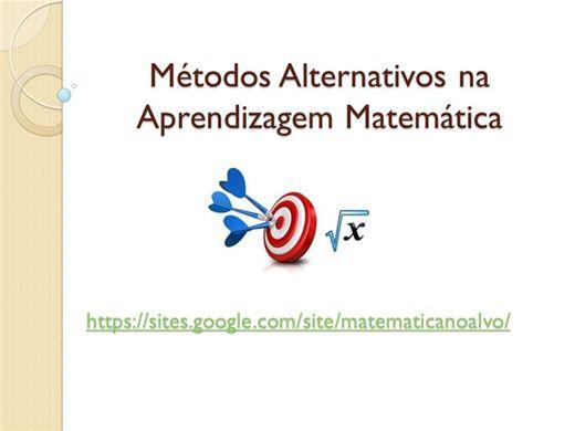 Curso Online de Métodos Alternativos na Aprendizagem Matemática