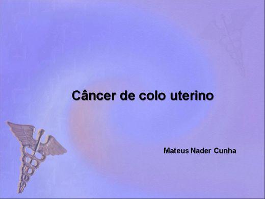 Curso Online de Câncer de colo de útero