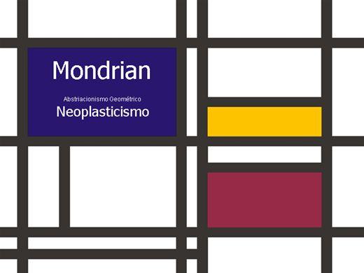 Curso Online de História de Piet Mondrian