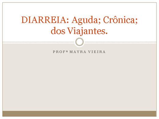Curso Online de Diarreias e suas características