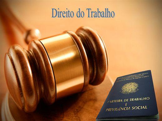 Curso Online de DIREITO DO TRABALHO