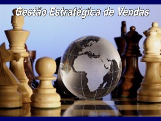 Curso Online de GESTÃO ESTRATÉGICA DE VENDAS