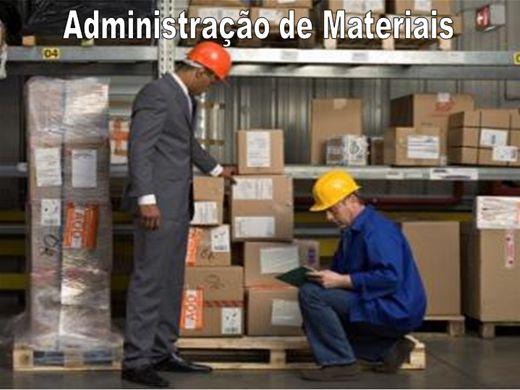 Curso Online de ADMINISTRAÇÃO DE MATERIAIS