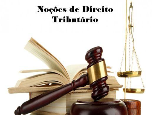 Curso Online de NOÇÕES DE DIREITO TRIBUTÁRIO