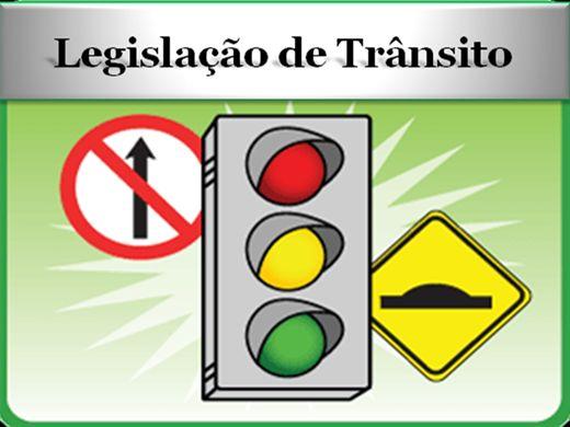 Curso Online de LEGISLAÇÃO DE TRANSITO