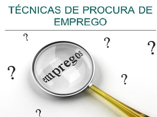Curso Online de TÉCNICAS DE PROCURA DE EMPREGO