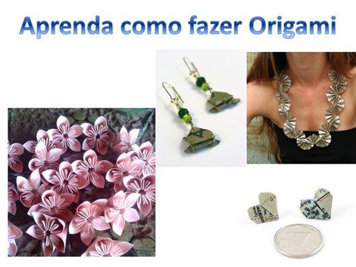 Curso Online de APRENDA FAZER ORIGAMI