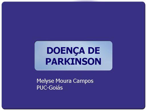 Curso Online de DOENÇA DE PARKINSON
