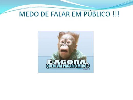 Curso Online de FALE EM PÚBLICO SEM MEDO!