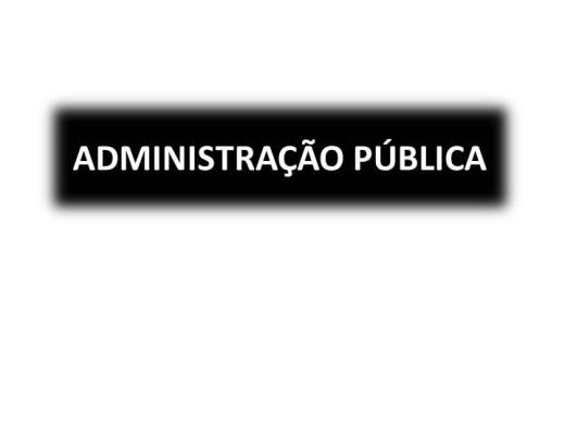 Curso Online de ADMINISTRAÇÃO PÚBLICA I