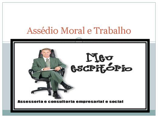 Curso Online de ASSÉDIO MORAL