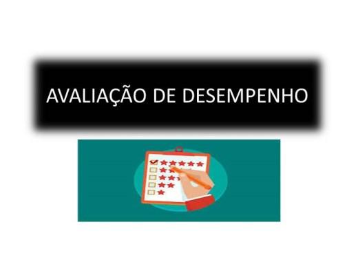 Curso Online de GESTÃO DE PESSOAS: AVALIAÇÃO DE DESEMPENHO.