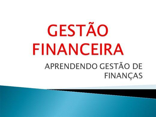 Curso Online de APRENDENDO GESTÃO FINANCEIRA