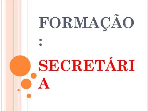 Curso Online de FORMAÇÃO: SECRETÁRIA