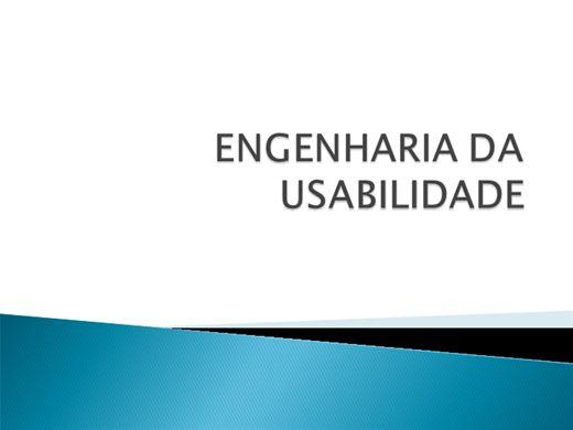 Curso Online de ENGENHARIA DA USABILIDADE