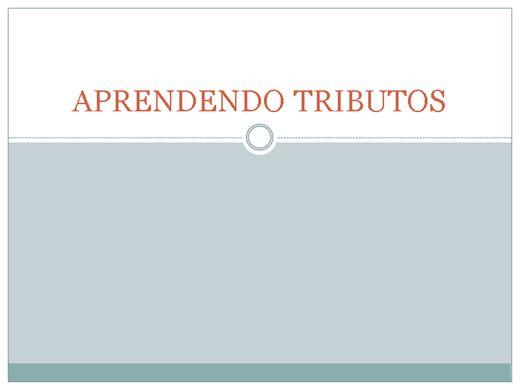 Curso Online de GESTÃO FINANCEIRA: APRENDENDO TRIBUTOS