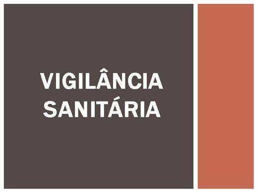 Curso Online de VIGILÂNCIA SANITÁRIA