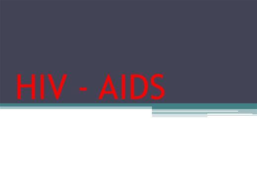 Curso Online de HIV  AIDS