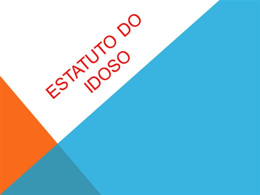 Curso Online de ESTATUTO DO IDOSO