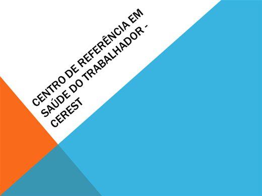 Curso Online de CENTRO DE REFERÊNCIA EM SAÚDE DO TRABALHADOR