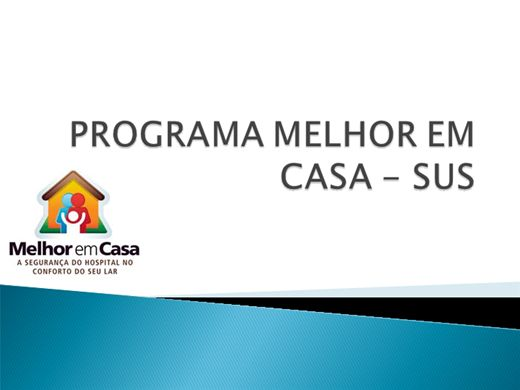 Curso Online de PROGRAMA MELHOR EM CASA - SAÚDE