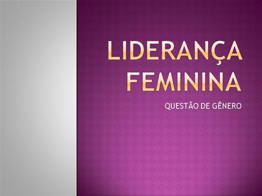Curso Online de LIDERANÇA FEMININA
