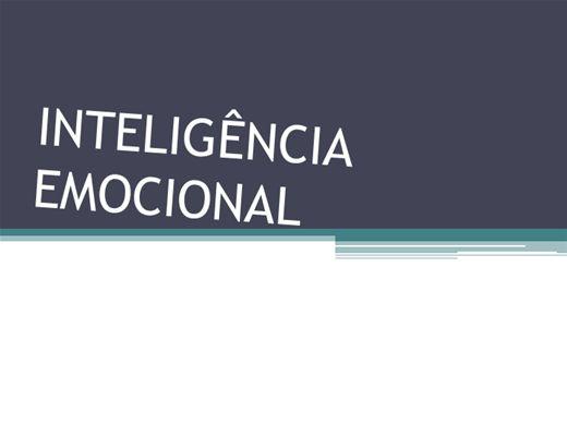 Curso Online de DESENVOLVENDO INTELIGÊNCIA EMOCIONAL NO TRABALHO