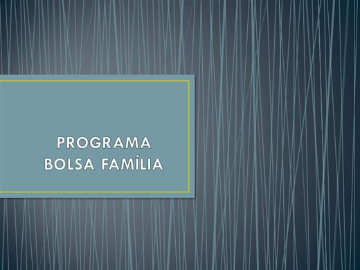 Curso Online de PROGRAMA BOLSA FAMILIA