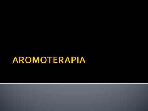 Curso Online de AROMATERAPIA