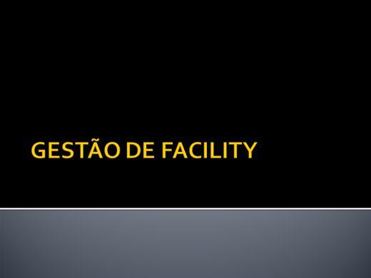 Curso Online de GESTÃO DE FACILITY