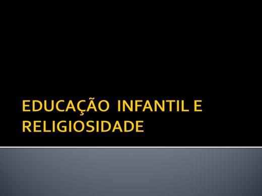 Curso Online de EDUCAÇÃO INFANTIL E RELIGIOSIDADE